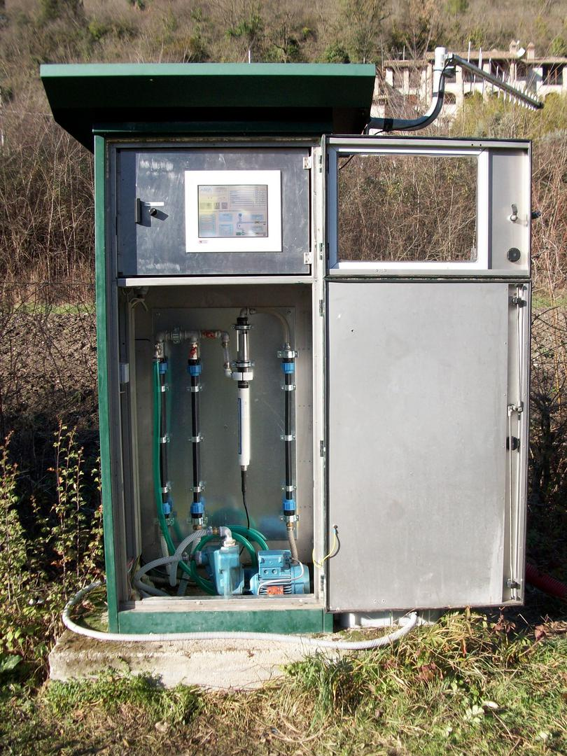 Stazione Digiteco di Monitoraggio qualità dell'acqua