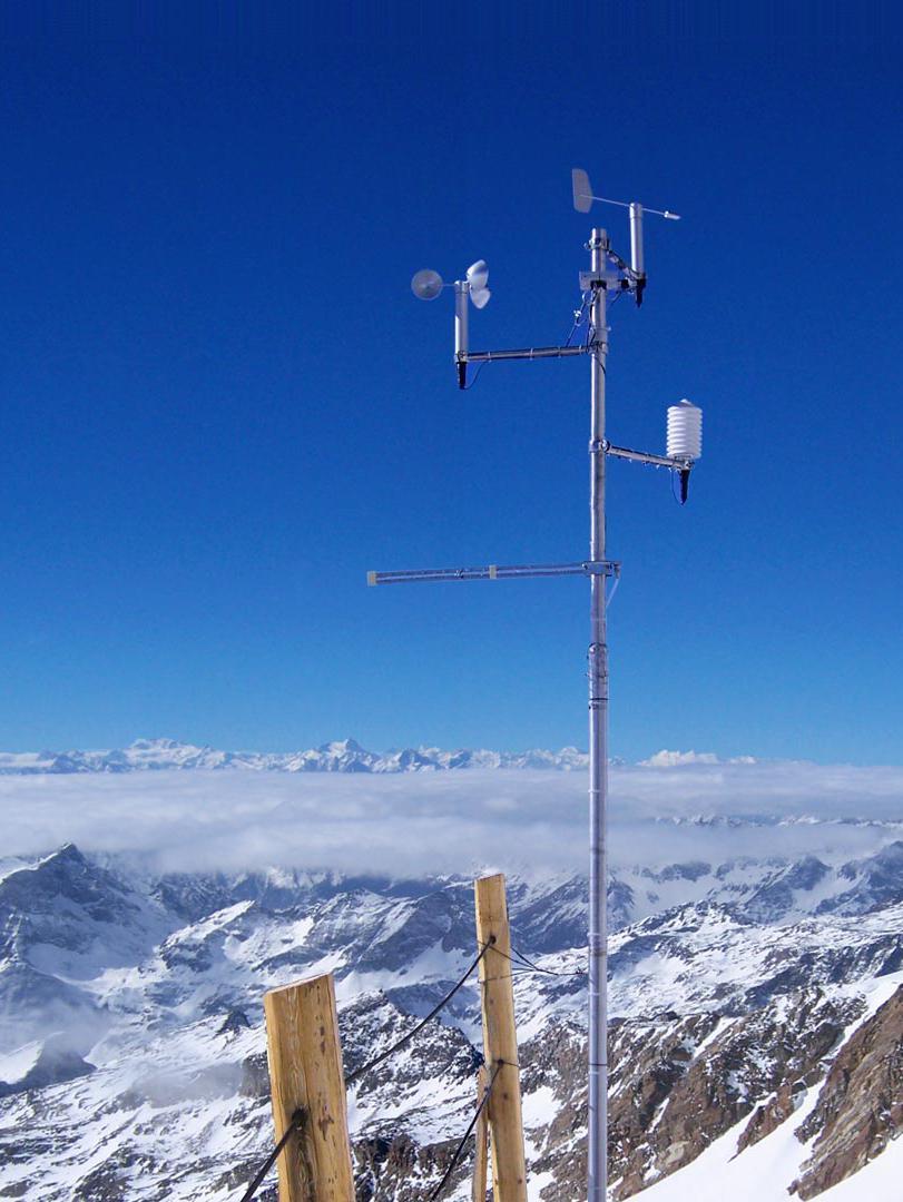 Stazione meteo DigitEco Monte Rosa Cresta Rossa