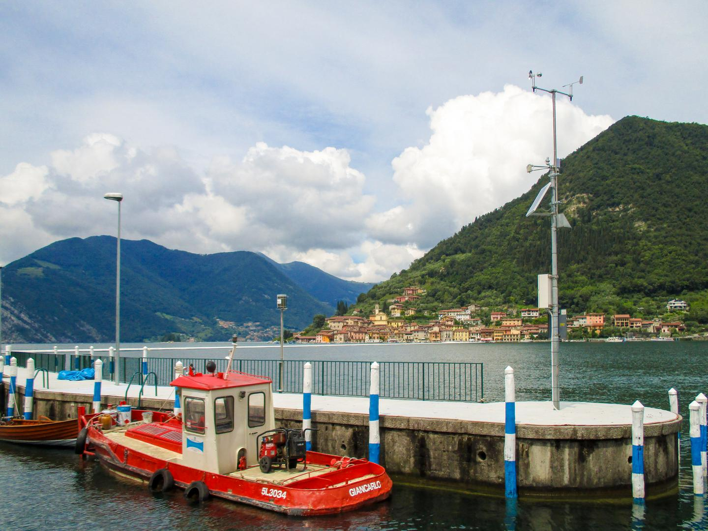 Stazione Meteo DigitEco Sulzano lago d'Iseo per The Floating Piers